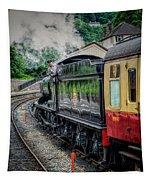 Steam Train 3802 Tapestry