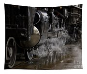 Steam Wheels Tapestry