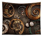 Steampunk - Abstract - Time Is Complicated Tapestry