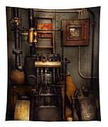 Steampunk - Back In The Engine Room Tapestry