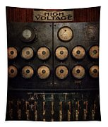 Steampunk - Electrical - Center Of Power Tapestry