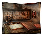 Steampunk - Electrical - My 9 To 5 Job  Tapestry