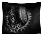 Steampunk - Gear - Hoist And Chain Tapestry