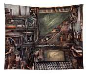 Steampunk - Machine - All The Bells And Whistles  Tapestry