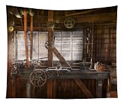 Steampunk - Machinist - My Tinkering Workshop  Tapestry