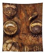 Steampunk - Meters D-66 Tapestry