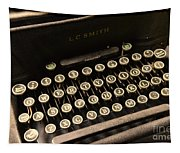 Steampunk - Typewriter - The Age Of Industry Tapestry