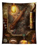 Steampunk - Victorian Fuse Box Tapestry