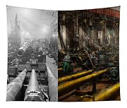 Steampunk - War - We Are Ready - Side By Side Tapestry