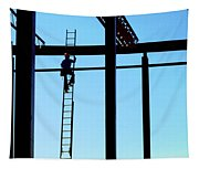 Steel Construction Tapestry