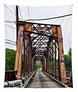 Steel Span Railroad Bridge Manayunk  Philadelphia Pa Tapestry