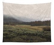 Steens Mountain Landscape - No. 2 Tapestry
