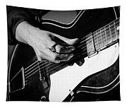Stella Burns - Guitar Close-up Tapestry