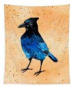 Stellar Jay Tapestry