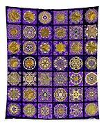 Stellars Two Dingbat Quilt Tapestry