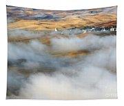Steptoe Fog Clearing Tapestry