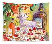 Still Life In Taormina Tapestry