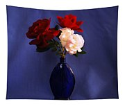 Still Life Red White And Blue Tapestry
