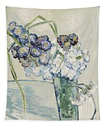 Still Life Vase Of Carnations Tapestry