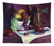 Still Life With Apples Tapestry