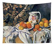Still Life With Drapery Tapestry