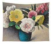 Still Life With Flowers Tapestry
