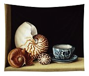 Still Life With Nautilus Tapestry