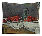 Still Life With Tomatoes Tapestry