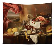 Still Life With View Tapestry