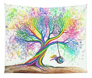 Still More Rainbow Tree Dreams Tapestry