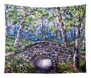 Stone Bridge 2 Tapestry
