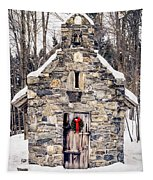 Stone Chapel In The Woods Trapp Family Lodge Stowe Vermont Tapestry