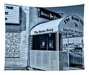 Stone Pony Cool Blue Tapestry