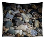 Stones On Beach Tapestry
