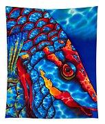 Stoplight Parrotfish Tapestry