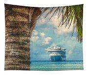 Stopover In Paradise Tapestry