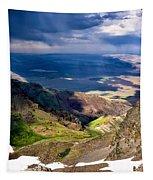 Storm Above The Alvord Desert Tapestry