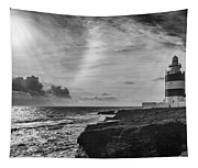 Storm Approaching Hook Head Tapestry