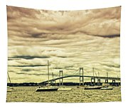 Storm Brewing In Newport Tapestry