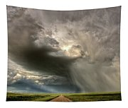 Storm Clouds Prairie Sky Saskatchewan Tapestry