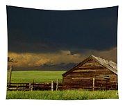 Storm Crossing Prairie 2 Tapestry