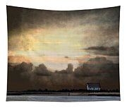 Storm On The Water Tapestry