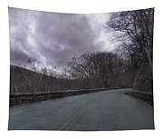 Stormy Blue Ridge Parkway Tapestry