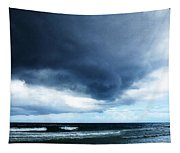 Stormy - Gray Storm Clouds By Sharon Cummings Tapestry