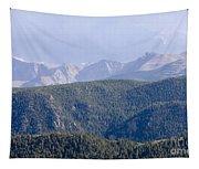 Stormy Pikes Peak Tapestry