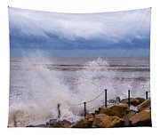 Stormy Seafront - Impressions Tapestry