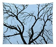 Stormy Trees Tapestry
