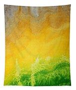 Stormy Mesa Original Painting Tapestry