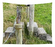 Straddle The Fence Tapestry