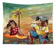 Stranded In Tahiti Tapestry